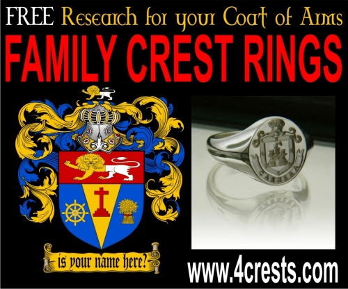 coat of arms rings